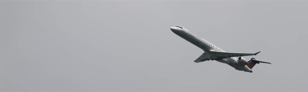 Image of an aircraft that can be tracked on Flightradar24
